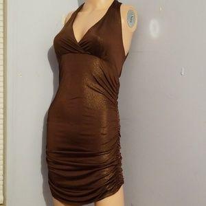 🎃🍭 5 for $25 🍭 BUTT SCRUNCH METALLIC DRESS